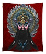 Chinese Masks - Large Masks Series - The Emperor Tapestry