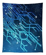 Circuit Board Technology Tapestry