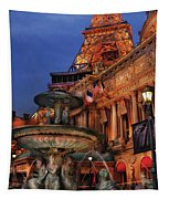 City - Vegas - Paris - Academie Nationale - Panorama Tapestry