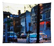 City As A Painting Tapestry