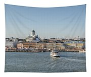 City By The Sea Tapestry