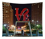 City Of Brotherly Love Tapestry