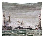 Civil War: Naval Battle Tapestry