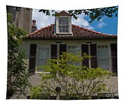 Clay Tile Roof Tapestry
