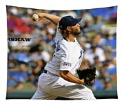 Clayton Kershaw, Los Angeles Dodgers Tapestry