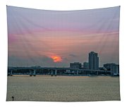 Clearwater At Sunrise Tapestry