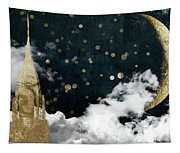 Cloud Cities New York Tapestry