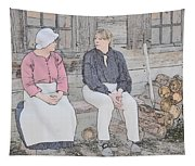 Colonials At Rest Tapestry