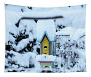 Colors In The Snow Tapestry