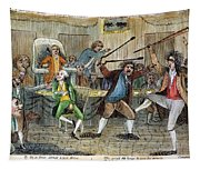 Congressional Pugilists Tapestry