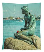 Copenhagen Little Mermaid Tapestry