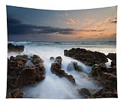 Coral Cove Dawn Tapestry