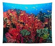 Coral Reef Scene Tapestry