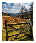 Countryside Gate Tapestry