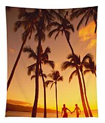 Couples Vacation Tapestry