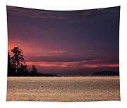 Craig Bay Sunset Tapestry