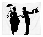 Cut-paper Silhouette Tapestry