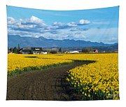 Daffodil Lane Tapestry