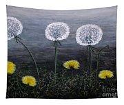 Dandelion Family Tapestry