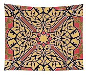 Detail Of Ceiling Arabesques From The Mosque Of El-bordeyny Tapestry