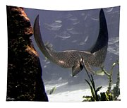 Devilray In Paradise Tapestry