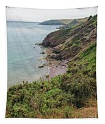 Devon Coastal View Tapestry