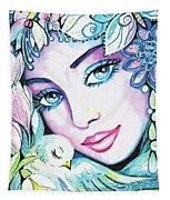 Dove Fairy Tapestry