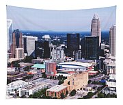 Downtown Charlotte Tapestry