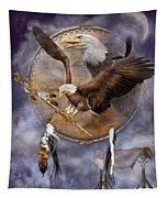 Dream Catcher - Spirit Eagle 2 Tapestry