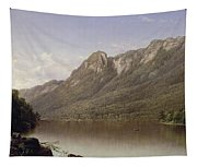 Eagle Cliff At Franconia Notch In New Hampshire Tapestry