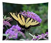 Eastern Tiger Swallowtail Butterfly 2015 Tapestry