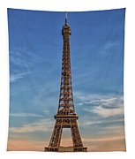 Eiffel Tower In France Tapestry