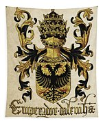 Emperor Of Germany Coat Of Arms - Livro Do Armeiro-mor Tapestry