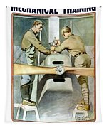 Mechanical Training - Enlist In The Air Service Tapestry