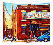 Fairmount Bagel In Winter Tapestry