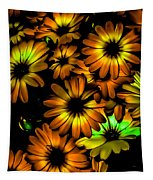 Fall Flowers Tapestry