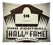 Football Hall Of Fame #1 Tapestry