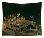 Forty-two Kids Tapestry