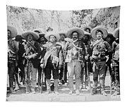 Francisco Pancho Villa Tapestry