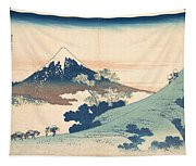 Fuji From Inume Pass Tapestry