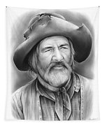 Gabby Hayes Tapestry