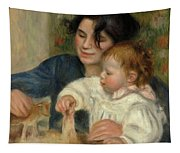 Gabrielle And Jean Tapestry