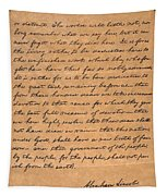 Gettysburg Address Tapestry
