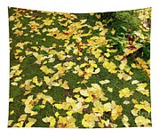 Ginkgo Biloba Leaves Tapestry