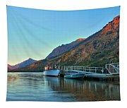 Glacier Two Medicine Sunrise  Tapestry