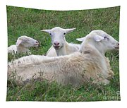 Goat Family Tapestry