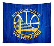 Golden State Warriors Door Tapestry
