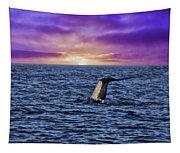 Good Night Newport Beach Tapestry