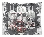 Graphic Art London Streetscene Tapestry