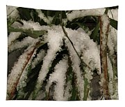 Grass In Snow 2 Tapestry